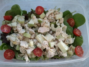 Finished Chicken Salad