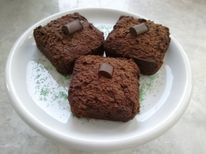 Chewy Chocolate Chunk Peppermint Brownies