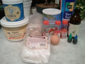 ingredients - press cookies