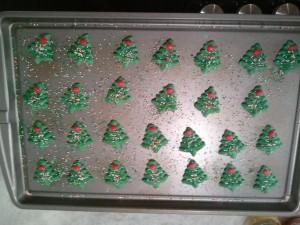 decorated cookies - prebake