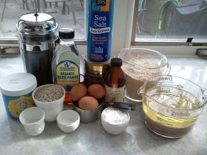 """Ingredients: Jillian's """"Cup of Joe"""" Chocolate Cake"""