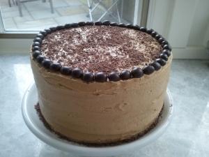 """Cup of Joe"" Chocolate Cake"