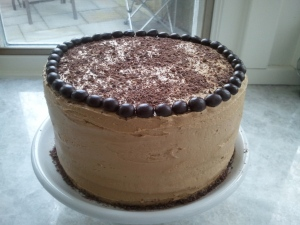 """Cup of Joe"" Chocolate Cake"