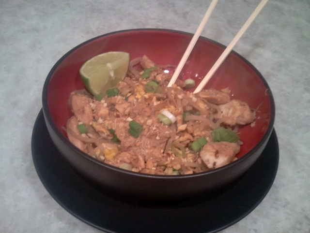 No Nonsense Chicken Pad Thai