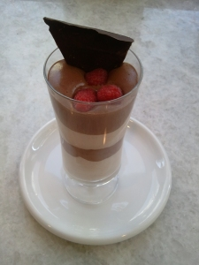 Layered mousse