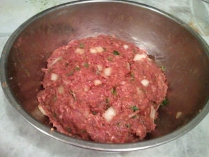 Meatloaf mixture