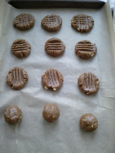 Cookies of baking sheet - Sunshine Cookies
