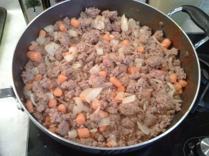 Meat filling - Sheperd's Pie