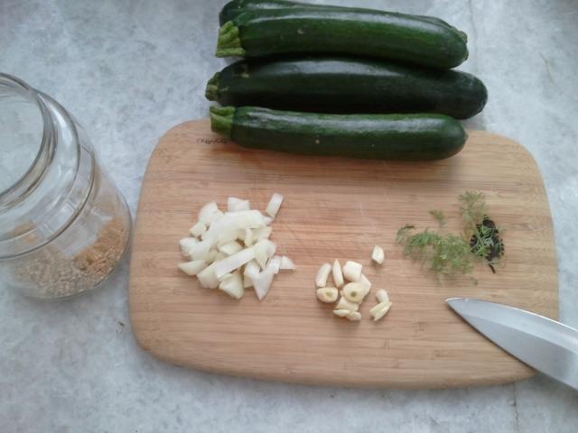 Zucchini for pickling