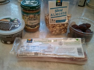 Ingredients - Bacon wrapped dates