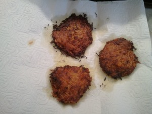 Resting Pancakes - Sweet Potato Pancakes