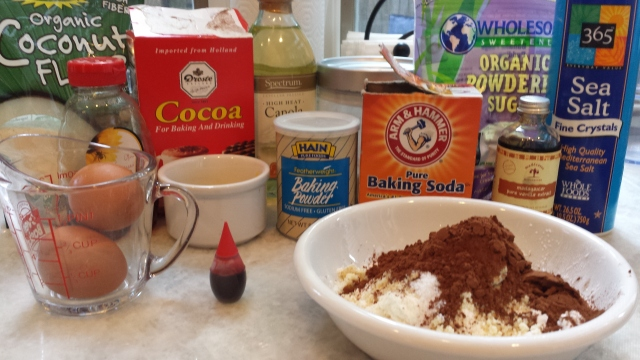 Ingredients - Red Velvet Cake