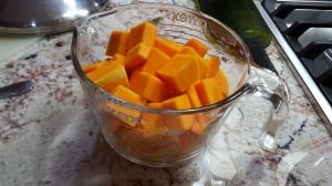 Cuber butternut squash