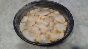 Pear Slices - Pear Upside Down Cake