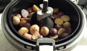 Roasted potatoes - Beef Bourguignon