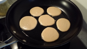 Cooking - Mini Maple Paleo Pancakes