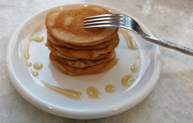 Stack - Mini Maple Paleo Pancakes