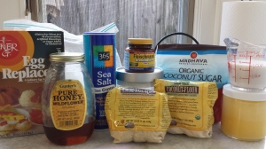 Ingredients - sticky bun dough