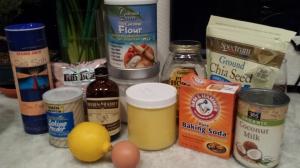 Ingredients - Strawberry Shortcake