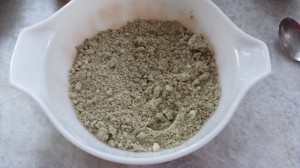 Dry Ingredients - Vegan Zucchini Bread