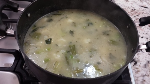 It's looking like soup - No Cream of Broccoli Soup