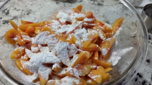 Peach filling - Caramel Bourbon Peach Pie