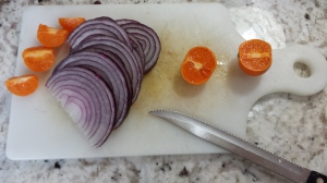Clementines and onion - Easy Paleo Pork Carnitas
