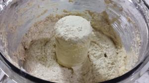 Gluten-free Rugelach - Adding the flour