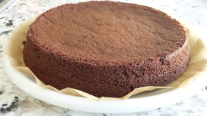 Flipped - Chocolate Flourless Cake