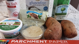 Ingredients - Sweet Potato Gnocchi