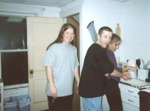 Making gnocchi circa 1996