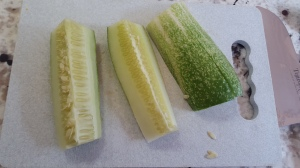 Cucumber spears