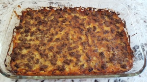 Finished Sausage Breakfast Casserole