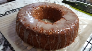 Glazed - Fall Harvest Bundt Cake